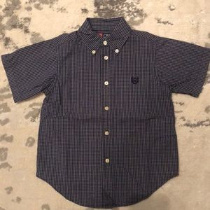 Boys button down short sleeve size 4/4t
